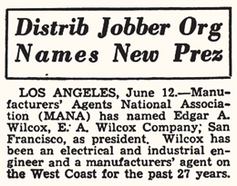 "As printed in ""The Billboard"" magazine, June 19, 1948."